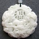 Charming Chinese dragon amulet necklace pendant (B-15)