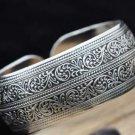 China Tibetan silver sculpture totem bracelet (A117)