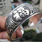 China Tibetan silver sculpture f bracelet (A120)