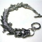 Tibet magic dragon charms, silver bracelet (A135)