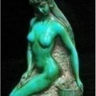 The beauty of the Tibet turquoise handicraft statue: naked women