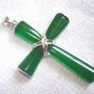925 green jade jade pendant with silver P131