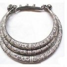The miao people of rare silver necklace