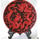 Beijing QiDiao handicraft furnishing articles * 264 mm ssangyong plate (1)