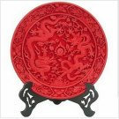 Beijing characteristics QiDiao handicraft furnishing articles * 260mm ssangyong plate (4)