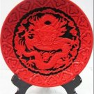 Old Beijing auspicious dragon technology QiDiao dish * 264 mm six f figure plate (8)