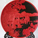 Folk craft QiDiao dish * 495 mm stories QiDiao plate (12)