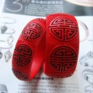 Folk craft a pair of good luck QiDiao bracelet (13)