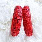 Folk craft a pair of lucky flowers QiDiao bracelet (15)