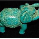 Tibet Turquoise Vividly Elephant (A337)