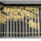 Bamboo qingming riverside seene selected edition handicraft painting and calligraphy