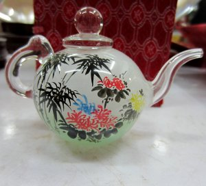 The beauty of the manual painting bottle inside the painting of the teapot (mei bamboo LAN)