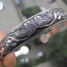 New Tibetan Tibet Silver Cuff Bracelet