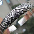 The beauty of the Tibet silver cuff bracelet totem bracelet (k6)