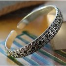 The beauty of the Tibet silver cuff bracelet totem bracelet (k7)