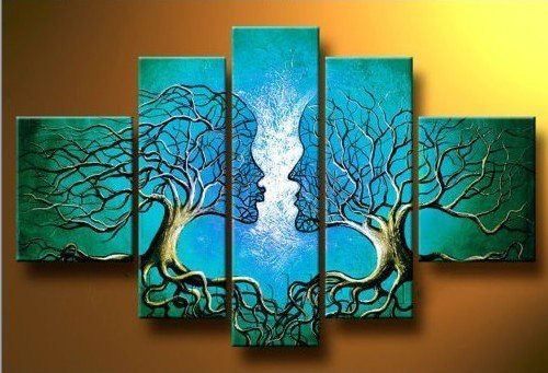 Modern abstract huge wall art painting on canvas 10