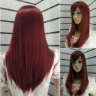 2012 new Sexy wave lady long Wavy Super red Fashion Health wig/wigs