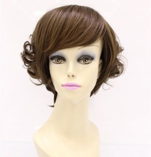 Free shipping new fashion colors comprehensive long curly hair wig woman