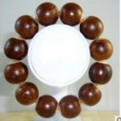 Chicken wings 20 mm bone reckoning with wood. Beads of hand bead bracelets