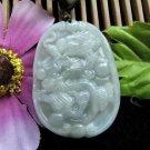 Beautiful good luck amulet dragon pendant Myanmar A cargo zodiac charm