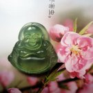 Charming jade carving of ice talisman necklace Buddha pendants (A1)