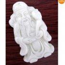 Chinese Jade Wealth God Amulet Pendant