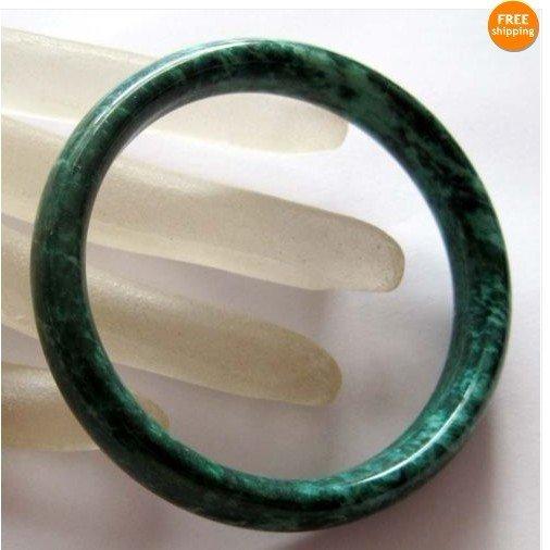 Unique Jade Bangle Bracelet