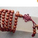 108 Stone Beads Tibetan Buddhist Prayer Mala Necklace