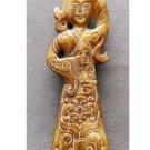 Old Jade Beauty Figurine