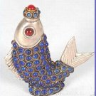 Charming Tibet inlay snuff bottle