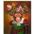 "Handicrafts Repro oil painting:""Monkey In canvas"" 24x36 c-03"