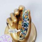 However bracelet cloisonne bracelet craft gift bracelet (blue)