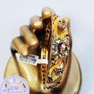 However bracelet cloisonne bracelet craft gift bracelet (yellow)