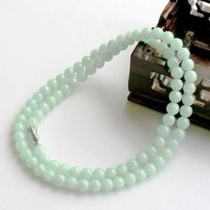 a cargo of natural jade / elegant jade necklace / beads