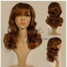 Deep zong color wig role playing deacon waves curls