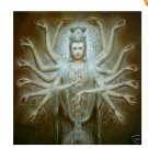 Chinese style Oil Painting 100% Handmade Museum Quality