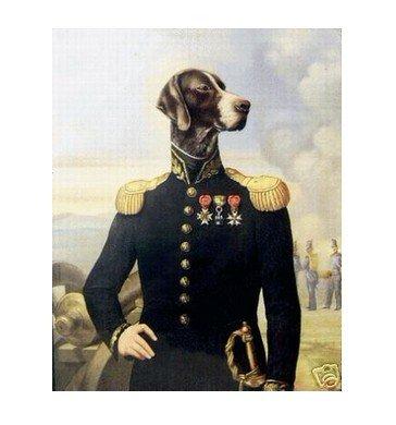 """Handicrafts Repro oil painting:""""Dog Portrait"""" 24x36"""""""