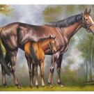 ( B1): horse painting on canvas art Repro24X36""