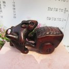 Boxwood carving the a mouse for hammer cart