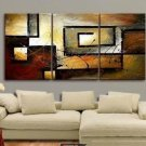 3pc MODERN ABSTRACT HUGE LARGE CANVAS ART OIL PAINTING (no framed)