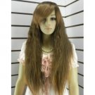 Fascinating new good sexy long brown fleeciness wig