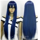 Hot Sell! New Long Cosplay Blue Black Straight Wig