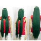 New Fashion Sexy dark green long straight Cosplay wig 100cm