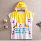 Cartoon Kids Towel cotton towel and beach towels baby cloak baby bathrobe (little duck)