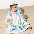 Cartoon Kids Towel cotton towel and beach towels baby cloak baby bathrobe (Penguin)