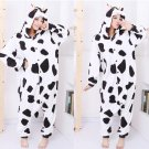 new kigurumi pajamas cosplay costume adult men and women's dress (cow)