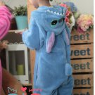 Neutral role in the popular children's play Animal Kigurumi pajamas jumpsuit (Lilo And Stitch)