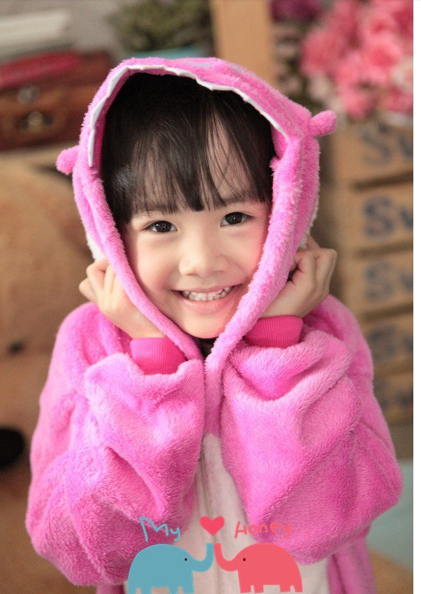 2013Neutral role in the popular children's play Animal Kigurumi pajamas jumpsuit (Lilo And Stitch)