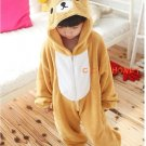 Neutral role in the popular children's play Animal Kigurumi pajamas jumpsuit (loose Bear)