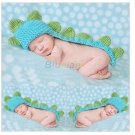 Korean version of the new baby photo studio photography photo Knitted baby dinosaur age
